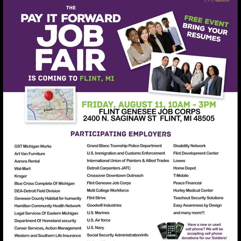 Flint Job Fair To Feature Nearly 50 Vendors Flint Beat