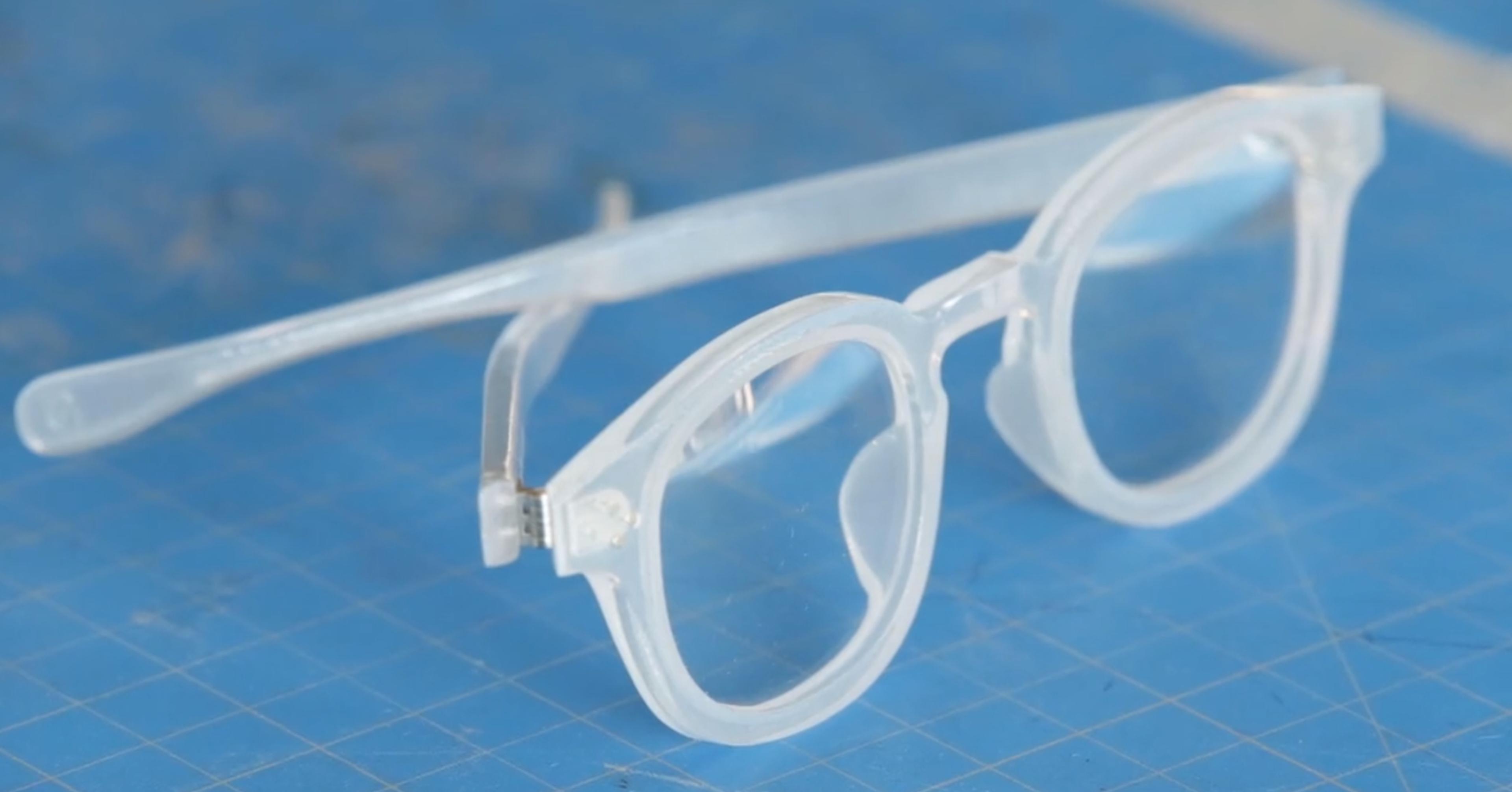 how a pair of eyeglasses could reduce plastic waste in flint flint