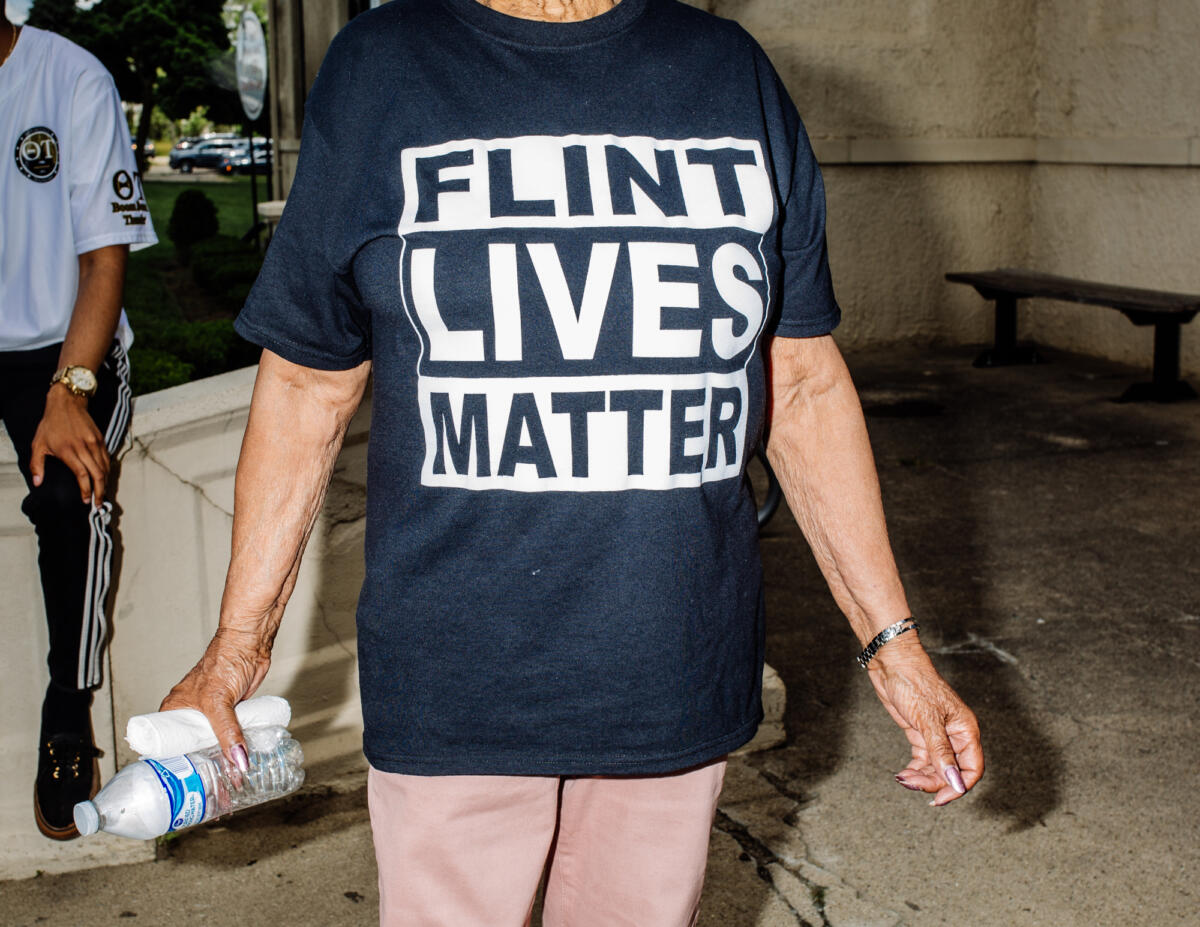 Flint Community Holds Citywide Protests Against Police Brutality