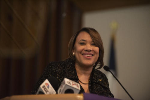 Flint Mayor Karen Weaver announced on April 9, 2019 that she will be running for re-election.