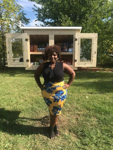 Chia Morgan helped launch Boxes of Hope in Flint. The program supports standalone food pantries throughout Flint.