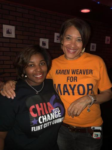 Chia Morgan put her bid in for Flint City Council in the city's sixth ward. She loss the seat to incumbent Charles Winfrey but says she will run again.